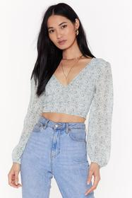 Nasty Gal Womens Sage Don't Tie to Change Me Flora