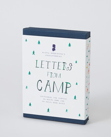Hanna Andersson Letters From Camp in Soft White Mu