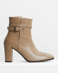 Strapped Bootie