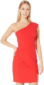BCBGMAXAZRIA One Shoulder Cocktail Dress