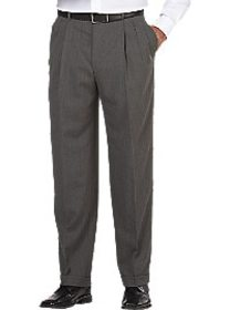 Pronto Uomo Gray Classic Fit Dress Pants