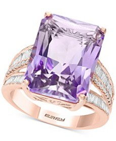 EFFY® Pink Amethyst (15-1/2 ct. t.w.) & Diamond (3