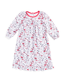 Toddler Girls Holiday Sleep Gown