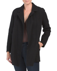 THEORY Wool Blend Clairene Coat
