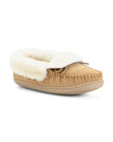 MINNETONKA Tracy Folded Trapper Slippers