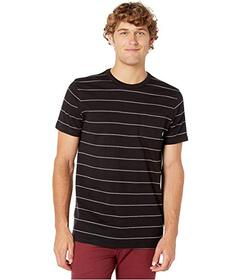 Vans Checked In Stripe Crew Knit T-Shirt