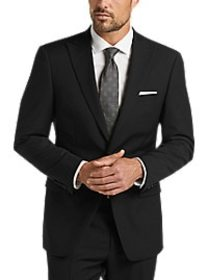 Calvin Klein Black Stripe Slim Fit Suit