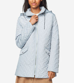 Cole Haan Signature Barn Jacket With Hood