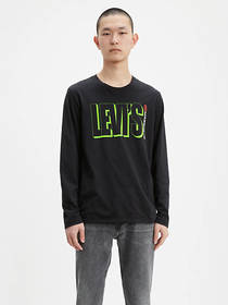 Levi's Long Sleeve Levi's® Text Graphic Tee Shirt