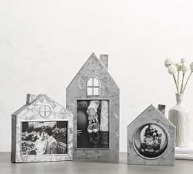 Pottery Barn Galvanized House Picture Frames