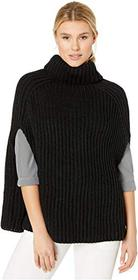 Vince Camuto Ribbed Knit Topper
