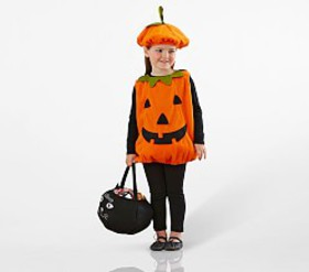 Pottery Barn Pumpkin Costume
