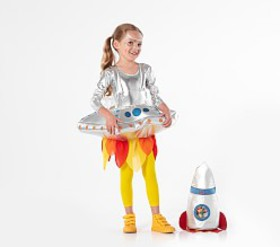 Pottery Barn Light Up 3D UFO Costume