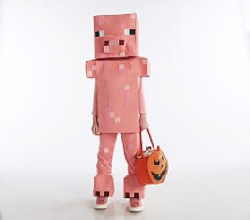 Pottery Barn Minecraft™ Pig Costume