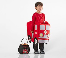 Pottery Barn Toddler 3D Firetruck Costume