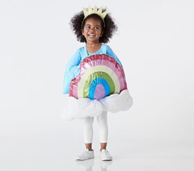 Pottery Barn Toddler Rainbow Emoji Costume