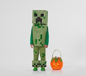 Pottery Barn Toddler Minecraft™ Creeper Costume