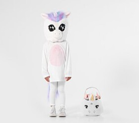 Pottery Barn Toddler Unicorn Big Head Costume