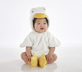 Pottery Barn Baby Duckling Costume