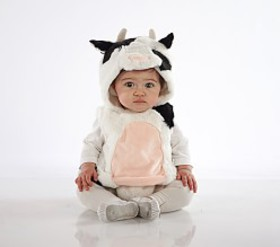 Pottery Barn Baby Cow Costume