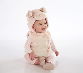 Pottery Barn Baby Piglet Costume