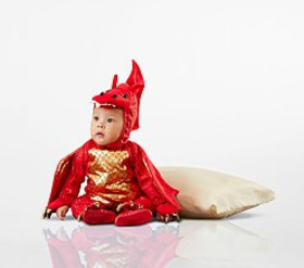 Pottery Barn Baby Red Dragon Costume