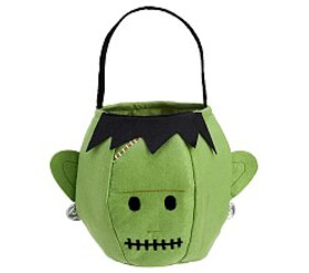 Pottery Barn Light Up Monster Treat Bag