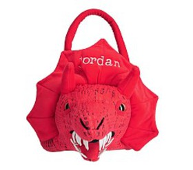 Pottery Barn Red Dragon Treat Bag