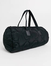 ASOS DESIGN quilted carryall