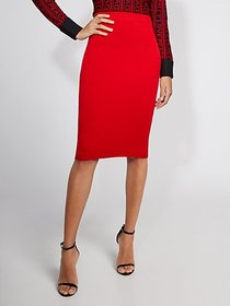 Red Sweater Skirt - Gabrielle Union Collection - N