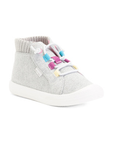 KEDS Glitter High Top Sneakers (Toddler)