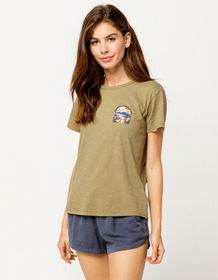 BILLABONG Peace Of Wild Things Sage Womens Tee_