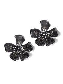 Sparkling Floral Post Earring - New York & Company on sale at New York & Comp