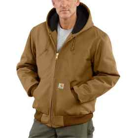 Carhartt J140 Quilted Flannel-Lined Duck Active Ja