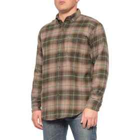 G.H. Bass & Co. Rosin One-Pocket Flannel Shirt - L