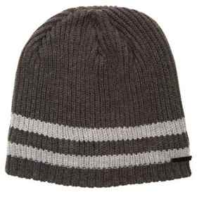 Rainforest Sherpa-Lined Marled Striped Beanie in C