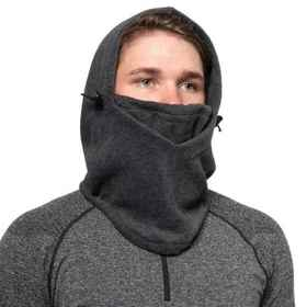 Xersion Microfleece Balaclava (For Men) in Charcoa