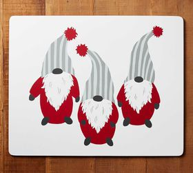 Pottery Barn Gnome Cork Placemat