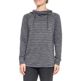 Evolve Soft Hoodie (For Women) in Black Heather