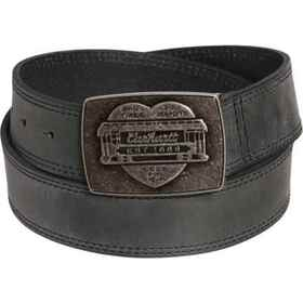 Carhartt 2268 Trolley Plaque Leather Belt (For Wom