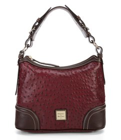 Dooney & Bourke Ostrich Collection Hobo Colorblock