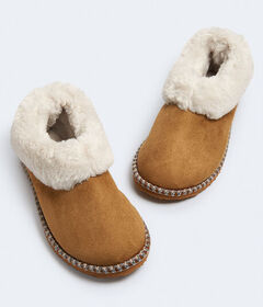 Aeropostale Faux Fur Slip-On