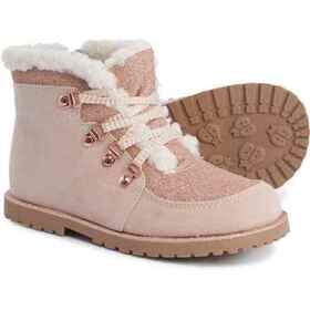 Maggie & Zoe Blush Sparkle Hiking Boots (For Girls