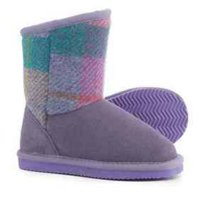 LAMO Footwear Wembley Boots (For Girls) in Purple