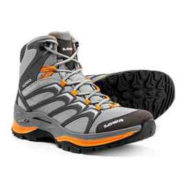 Lowa Innox Mid Hiking Boots (For Women) in Gray/Ma