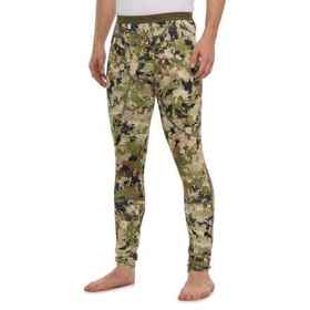 Sitka Core Heavyweight Camo Base Layer Pants (For