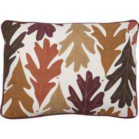 Villa by Classic Home Turning Leaves Throw Pillow