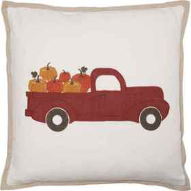 Villa by Classic Home Pickup Truck Throw Pillow -