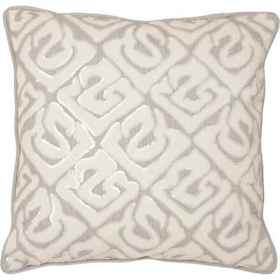 Villa Home Ellwood Linen-Cotton Sequin Throw Pillo