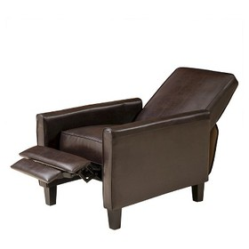 Darvis Fabric Recliner Club Chair - Christopher Kn